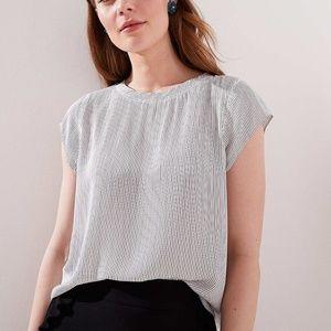 NewWithTag- Ann Taylor Loft Women blouse Tee Top S